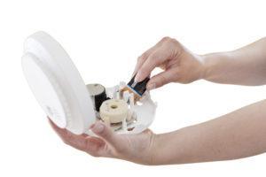 Palovaroittimen kunto on tärkeää testata säännöllisesti.