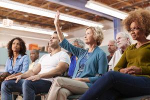 Yhtiökokouksessa päätetään taloyhtiötä koskevista asioista ja kokoukseen osallistumalla voi olla mukana vaikuttamassa.