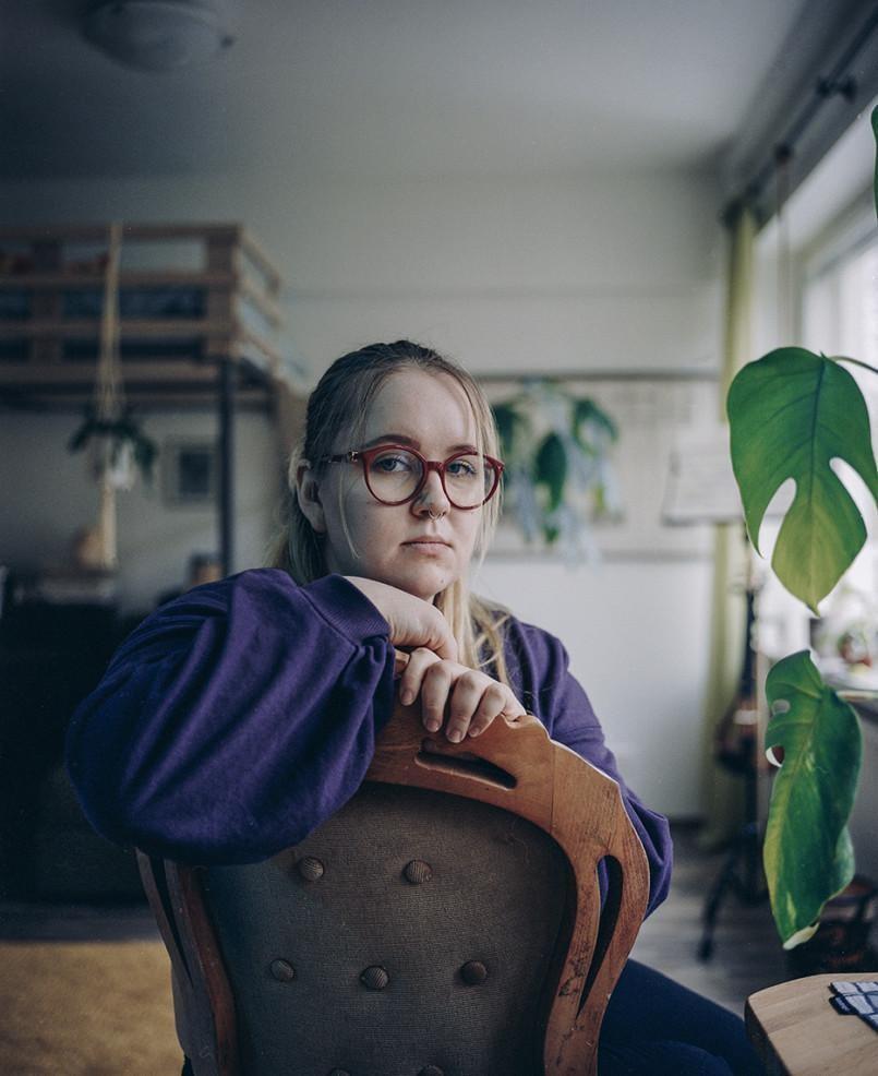 Riina Niemiselle on ollut yllätys, kuinka paljon aikaa kodinhoito vie.
