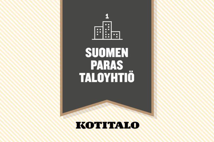 Kotitalo-media palkitsee Suomen parhaan taloyhtiön
